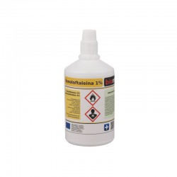 Fenoloftaleina r-r 1% wskaźnik pH 100 ml
