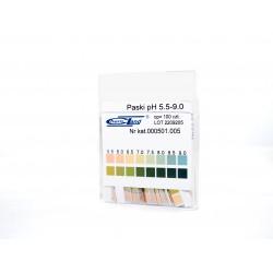 Paski pH 2-polowe fix 5.5 - 9 - 0 100 szt.