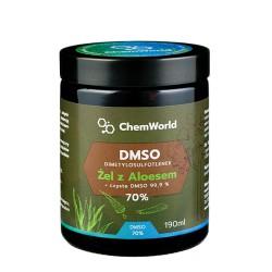 DMSO żel 70% z aloesem 190 ml
