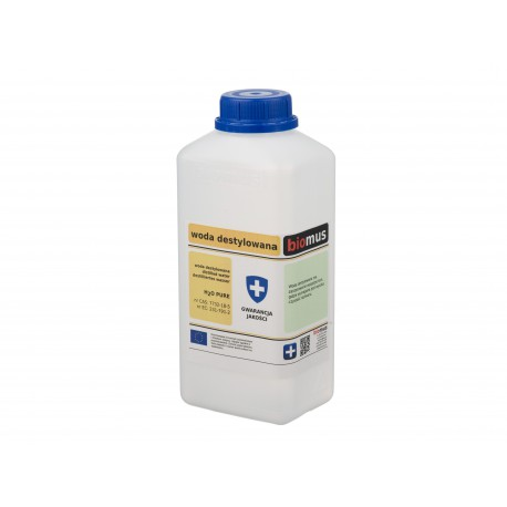 Woda destylowana H2O Pure 1 l